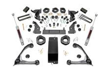 "2014-2016 Chevy Silverado 1500 4WD 4.75"" Lift Kit - Rough Country 292.2"