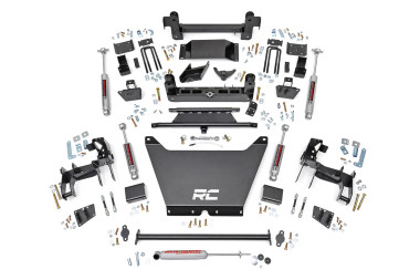 """1994-2004 Chevy S10 Pickup 4WD 6"""" Lift Kit - Rough Country 243.2"""