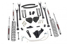 """2008-2010 Ford F-250 Super Duty 4WD 6"""" Lift Kit - Rough Country 588.2"""