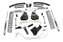 """2008-2010 Ford F-250 Super Duty 4WD 6"""" Lift Kit - Rough Country 594.2"""