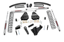"""2005-2007 Ford F-250 Super Duty 4WD 6"""" Lift Kit - Rough Country 596.2"""