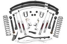 """1984-2001 Jeep Cherokee XJ 4WD 4.5"""" Lift Kit - Rough Country 63330"""