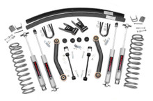 """1984-2001 Jeep Cherokee XJ 4WD 4.5"""" Lift Kit - Rough Country 623N2"""