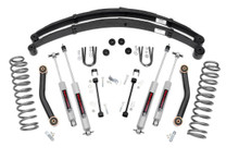 """1984-2001 Jeep Cherokee XJ 4WD 4.5"""" Lift Kit - Rough Country 633N2"""