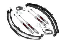 """1987-1995 Jeep Wrangler YJ 4WD 2.5"""" Lift Kit - Rough Country 615.2"""