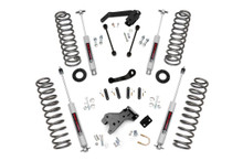 """2007-2010 Jeep Wrangler JK Unlimited 2WD 4"""" Lift Kit - Rough Country 68130"""