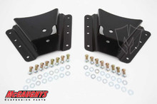 "2002-2010 Chevy & GMC 2500/3500HD W/ 10 Hole Hangers 2""-3"" Drop Hangers - McGaughys 33085"