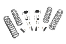 """2007-2010 Jeep Wrangler JK Unlimited 2WD 2.5"""" Lift Kit - Rough Country 901"""