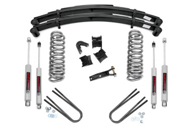 """1977-1979 Ford F-100 4WD 4"""" Lift Kit - Rough Country 500-77-79.20"""