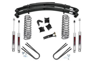 """1970-1976 Ford F-100 4WD 4"""" Lift Kit - Rough Country 500-70-76.20"""