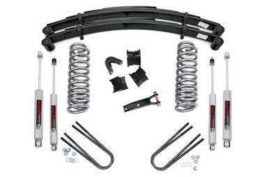 """1978-1979 Ford Bronco 4WD 4"""" Lift Kit - Rough Country 535.2"""