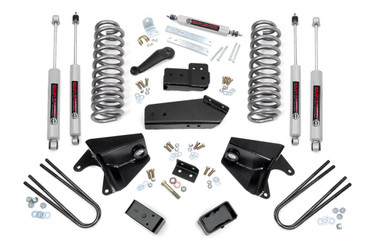 """1980-1996 Ford F-150 4WD 4"""" Lift Kit - Rough Country 465.2"""