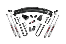 """1980-1986 Ford F-250 4WD 4"""" Lift Kit - Rough Country 4908030"""