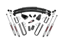 """1987-1997 Ford F-250 4WD 4"""" Lift Kit - Rough Country 490-87UP30"""
