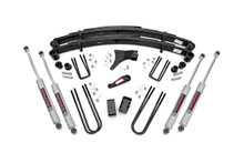 """1986-1997 Ford F-350 4WD 4"""" Lift Kit - Rough Country 4918630"""