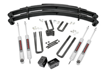 """1977-1979 Ford F-250 4WD 4"""" Lift Kit - Rough Country 415.2"""