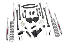 """2005-2007 Ford F-250 Super Duty 4WD 6"""" Lift Kit - Rough Country 581.2"""