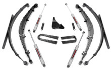 """1999-2004 Ford F-250 Super Duty 4WD 4"""" Lift Kit - Rough Country 50130"""