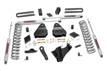 """2011-2014 Ford F-250 Super Duty 4WD 4.5"""" Lift Kit - Rough Country 563.2"""