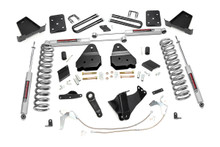 """2011-2014 Ford F-250 Super Duty 4WD 6"""" Lift Kit - Rough Country 566.2"""
