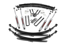 """1977-1993 Dodge W150 Pickup 4WD 4"""" Lift Kit - Rough Country 341.2"""