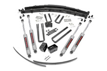 """1978-1993 Dodge Ramcharger 4WD 4"""" Lift Kit - Rough Country 325.2"""