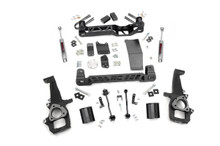 """2006-2008 Dodge Ram 1500 4WD 4"""" Lift Kit - Rough Country 32630"""