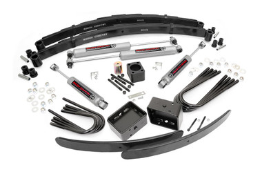 """1988-1991 Chevy C3500/K3500 Pickup 4WD 6"""" Lift Kit - Rough Country 251.2"""