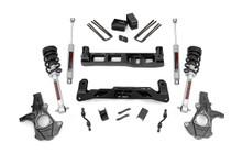 "2014-2018 Chevy Silverado 1500 2WD 5"" Lift Kit - Rough Country 24834"