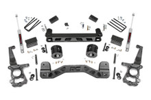 """2015-2020 Ford F-150 2WD 4"""" Lift Kit - Rough Country 55130"""