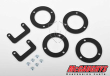 """2007-2013 GM 1/2 Ton Truck-SUV (2WD or 4WD) 1.5"""" Front Leveling Kit (Up/Lwr Strut Spacers)"""