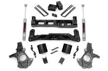 "2014-2018 Chevy Silverado 1500 2WD 5"" Lift Kit - Rough Country 24831"
