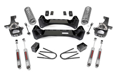 """2002-2005 Dodge Ram 1500 2WD 6"""" Lift Kit - Rough Country 37630"""