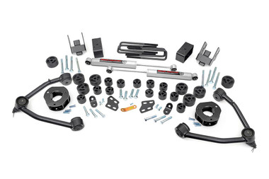 "2007-2013 Chevy Silverado 1500 2WD 4.75"" Lift Kit - Rough Country 254.2"