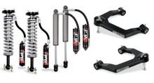 "2019-2022 Chevy & GMC 1500 2WD/4WD 3"" Elite Uniball Leveling Kit w/ FOX 2.5 Shocks - Cognito 210-P1009"
