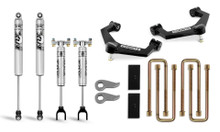 """2020-2021 Chevy & GMC 2500/3500 2WD/4WD 3"""" Leveling Lift Kit w/ Uniball  Control Arms - Cognito 110-P0882"""