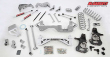 "2001-06 GM SUV 1/2 Ton (4WD, Auto Leveling) 7"" Lift Kit (silver powder-coat)"