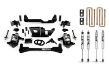 """2001-2010 Chevy & GMC 2500/3500 2WD/4WD 4"""" Standard Lift Kit - Cognito 110-P0785"""