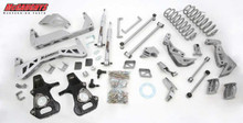"2007-10 GM SUV 1/2 Ton (2WD, NOT Auto Leveling) 7"" Lift Kit (silver powder-coat)"
