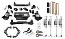 "2011-2019 Chevy & GMC 2500/3500 2WD/4WD 6"" Performance Lift Kit w/ FOX 2.0 Shocks - Cognito 110-P0969"