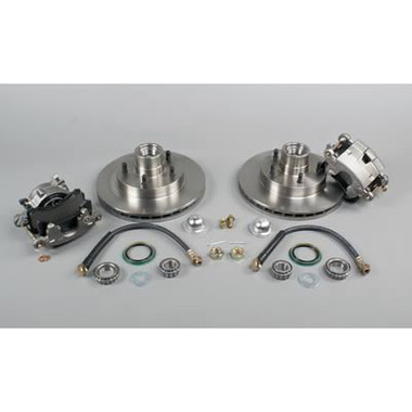 """McGaughys Buick Century 1964-1972 Front Disc Brake Kit For Drop Spindles; 5x4.75"""" Bolt Pattern - Part# 63205"""