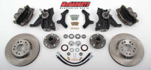 "1973-1987 Chevrolet C-10 Front 13"" Disc Brake Kit W/Drop Spindles; 5x5 Bolt Pattern - McGaughys 33159"