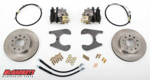 "McGaughys Chevrolet Fullsize Car 1955-1964 11"" Rear Disc Brake Kit; 5x4.75 Bolt Pattern - Part# 64095"