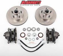 "1960-1987 GMC C-10 12"" Front Disc Brake Kit; 5x5 Bolt Pattern - McGaughys 63156"