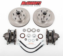 "1960-1987 GMC C-10 12"" Front Disc Brake Kit; 6x5.5 Bolt Pattern - McGaughys 63157"