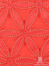 Lace H413 Coral/Light Gold