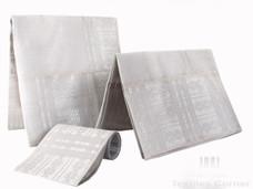 Aso-Oke A102 White/Silver