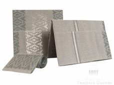 Aso-Oke A140 Grey/Silver