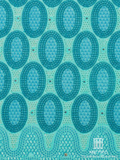 Lace H535 Aqua/Turquoise