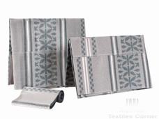 Aso-Oke A152 Grey/Silver